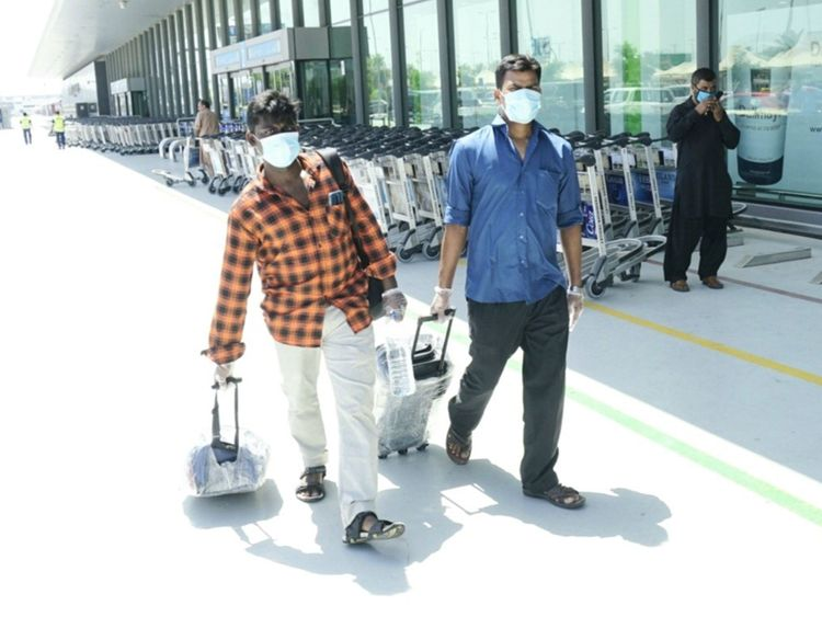 Some-residents-who-arrived-at-the-Dubai-Airport-early