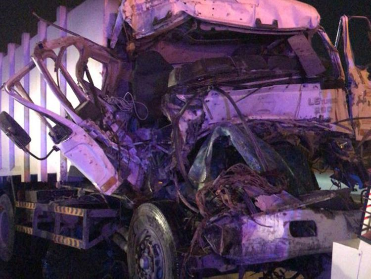 Two-dead--five-injured-in-Dubai-traffic-accident-