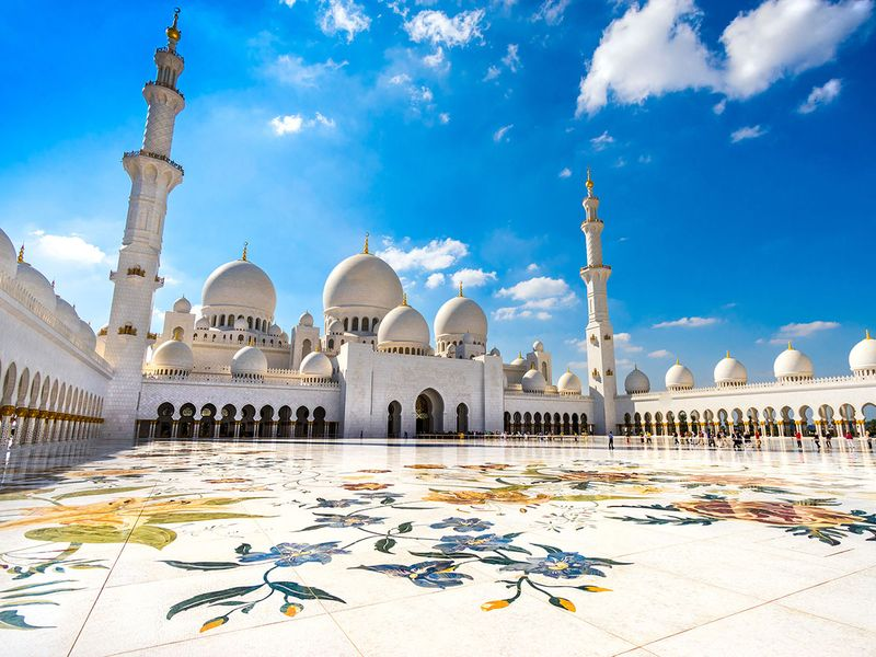 Zayed-Mosque